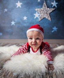 świąteczna sesja dziecka