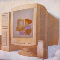 powiększenie - komputer